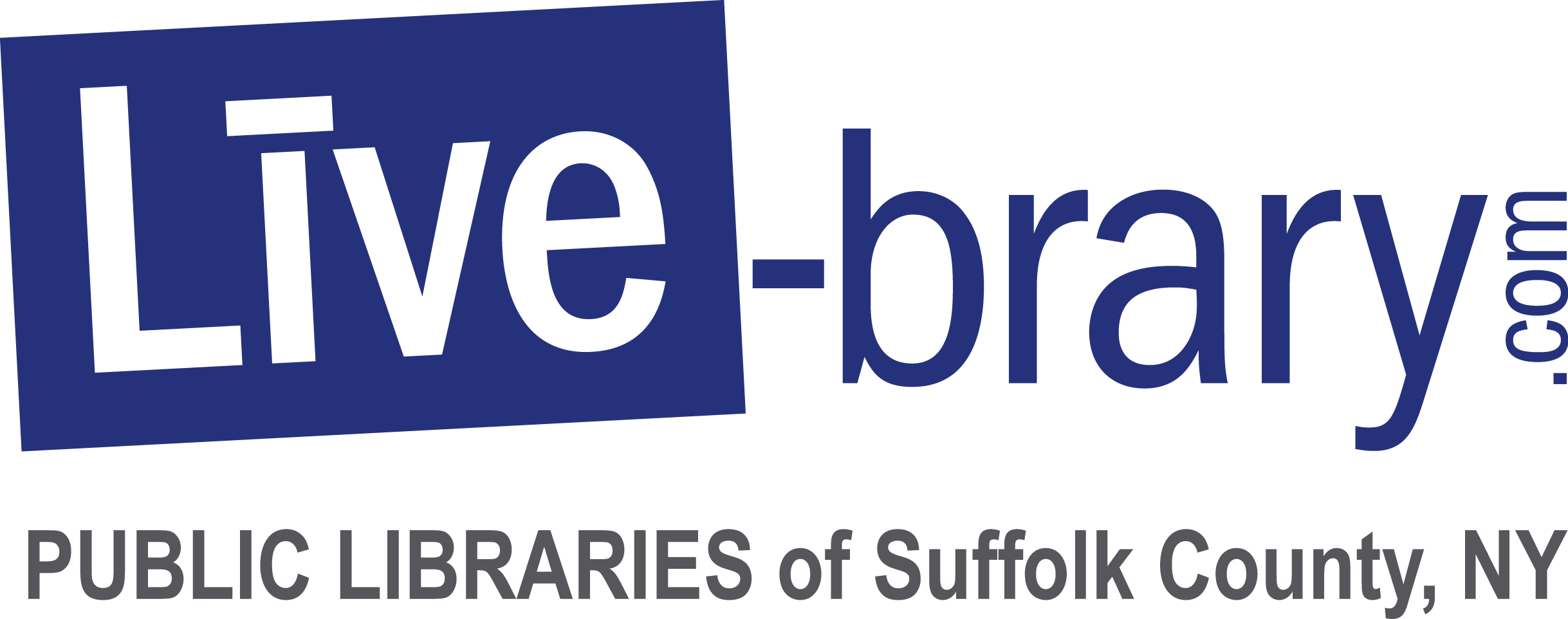 Online Catalog for the Public Libraries of Suffolk County, NY