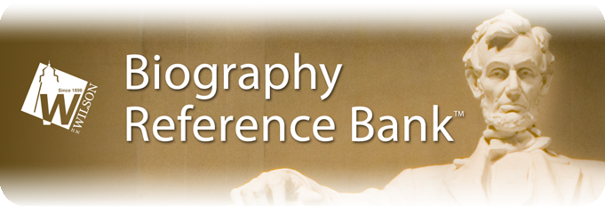 Biography Reference Bank database