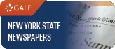 Gale: New York State Newspapers Database Logo