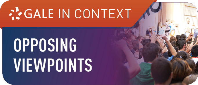 Gale In Context: Opposing Viewpoints Database