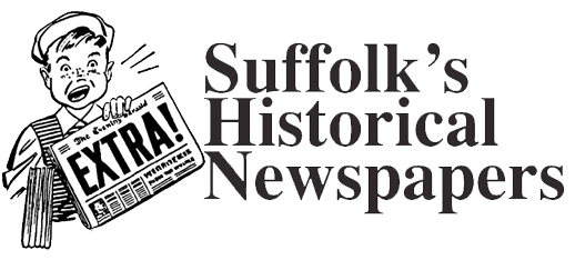 Suffolk Historic Newspapers Logo